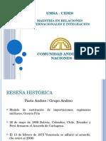 Comunidad Andina de Naciones y Bolivia