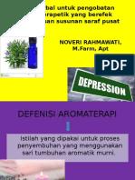 Obat Herbal Untuk Pengobatan Aromaterapetik Yang Berefek Antidepresan