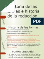 Historia de Las Formas