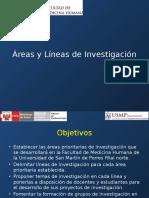 Tesis I - Áreas y Lìneas de Investigación