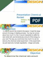 presentation rocket - physic