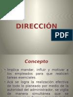 Presentación de Administración
