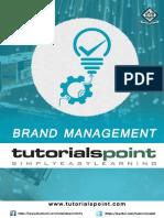 Brand Management Tutorial