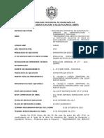 Acta de Recepcion de Obra - Huallaraccra