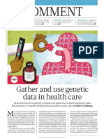 The Use of Genomic Information