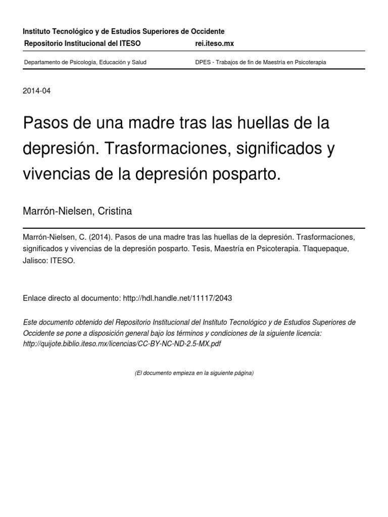 Cristina Marron (Resumen Listo)