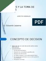 Los Costos y La Toma de Decisiones