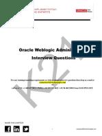 Oracle Weblogic InterviewQ