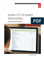 Adobe CQ 5.6 System Administrator Student Workbook_FINAL_20130405