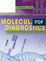 Molecular Diagnostics-Fundamentals Methods and Clinical Applications