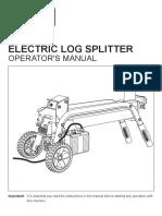 Ryobi ELS52G Manual 1 Log Splitter