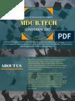 MDU Amission 2017