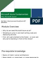 Why Microsoft Azure