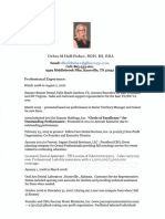 debra hall fisher resume