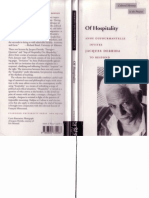 Derrida, Jacques -Of Hospitality-Stanford University Press (2000)