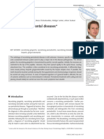 perio - necrotising periodontal disease