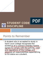 STUDENT CODE OF DISCIPLINE.pptx