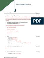 Econ Intro Worksheet