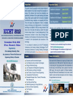 [SECOND]ICCHT2012 Announcement for Foreign Delegate