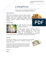 Alimentos alergénicos