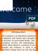 ARTICLE ON SELF ACCEPTANCE