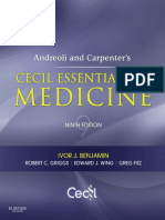 Cecil Essentials of Medicine 9th Edition