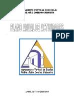Plano Anual Actividades Do Agrupamento 2009-10