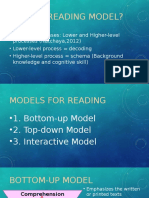 Presentation of Reading Models