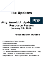 Tax Update-.ppt