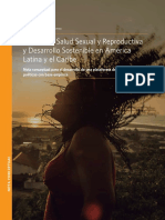 Población Salud Sexual y Reproductiva LAC UNFPA