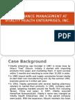 Performance Management at Vitality Health Enterprises, Inc (1)