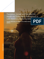 UNFPA Population, Sexual and Reproductive Health and Sustainable Development in LAC
