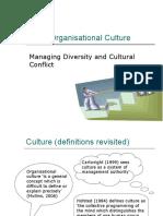 Cultural Conflict