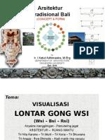 Visualisasi  Lontar Tutur Gong Wsi 2017