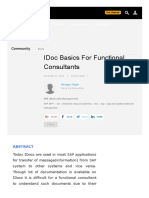 IDoc Basics for Functional Consultants _ SAP Blogs