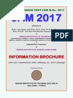 Jam 2017 Notice