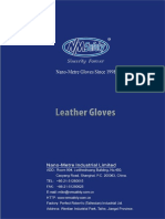Nano-Metre Leather Glove