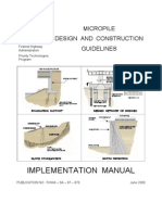 Micropile Design and Construction Guideline