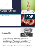Epigenetic and Cancer Nutrition