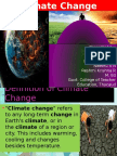 Climate Change ppt