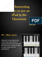 103 interesting ways to use an ipad in the classroom by- alexis arnsmeier