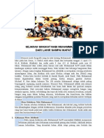Sejarah Singkat Nabi Muhammad Sa1