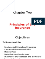 Principle of Insurance Chapter Two