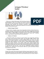 Keamanan Jaringan Wireless