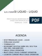 Extraksi Liquid - Liquid