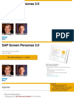 02 Practitioners Forum - SAP Screen Personas 3.0