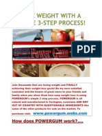 PowerGum Lose Weight and Gain Energy! www.powergum.webs.com
