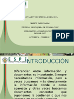 Tecnicas Busqueda Informacion