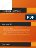 business powerpoint - the eu
