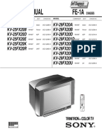 Sony Kv29fx20a Fe1a